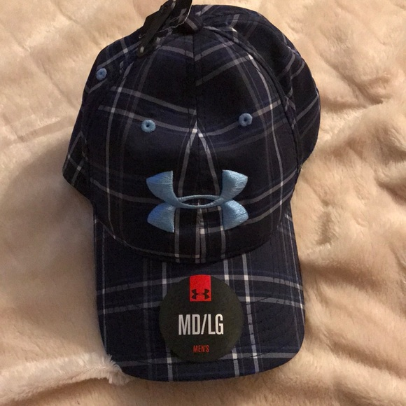 sale retailer ff3ee f7c98 ... real new under armour plaid hat d652c 74102